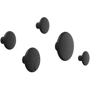Muuto - The Dots Set - black - indoor