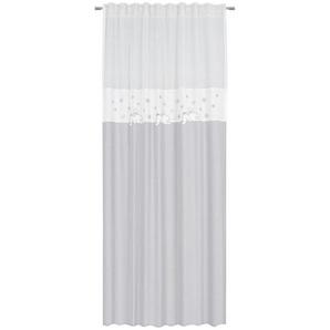 My Baby Lou Fertigvorhang 135/245 cm , Grau , Textil , 135x245 cm