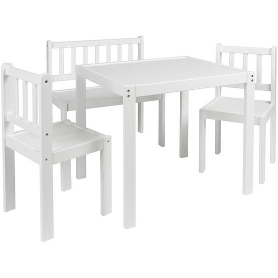 My Baby Lou Kindersitzgruppe , Weiß , Holz , Buche