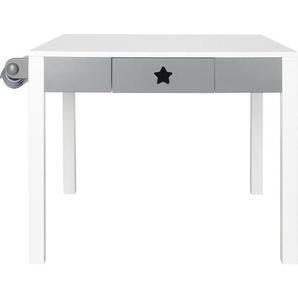 My Baby Lou: Tisch, Kiefer, Grau, Weiß, B/H/T 67 48 60
