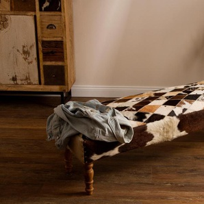 Home affaire Polsterbank Cowhide