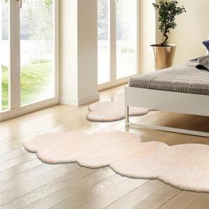My Home Selection Bettumrandung »Magong«, 15 (2x Brücke 140x65 cm & 1x Läufer 270x65 cm), 28 mm Gesamthöhe, beige