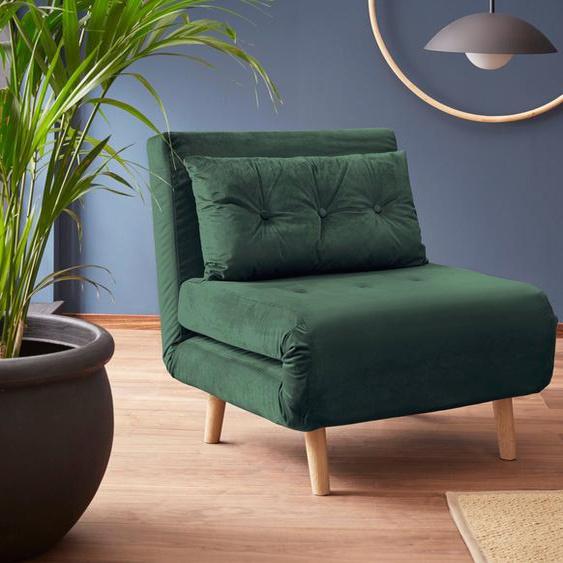 my home Daybett, grün, mit Schlaffunktion