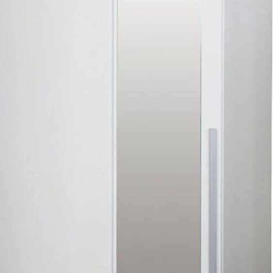 Eckkleiderschrank  Breite 92 cm »Lorena«, 92x217x92 cm (BxHxT), FSC®-zertifiziert, my home, Material Metall