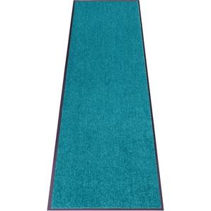 my home Fußmatte Clean & Walk, rechteckig, 7 mm Höhe, Schmutzfangmatte, In- und Outdoor geeignet, waschbar B/L: 180 cm x 120 cm, 1 St. grün Designer Fußmatten