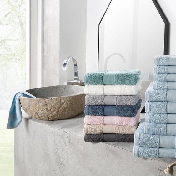 my home Handtuch Set »Ally« (Set, 10-tlg), in dezenten Unifarben