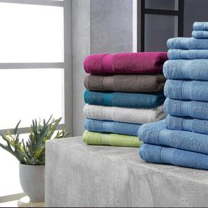 my home Handtuch Set »Moni« (Set, 10-tlg), in Premium-Qualität