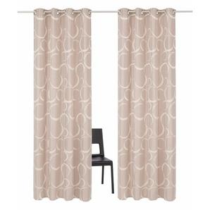 My Home Selection Vorhang »Kade«, H/B 175/140 cm, braun, blickdichter Stoff