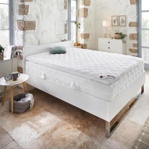 My Home Komfortschaum-Topper »Polly Plus XXL Komfort«, 90x190 cm, weiß, ca. 6 cm hoch