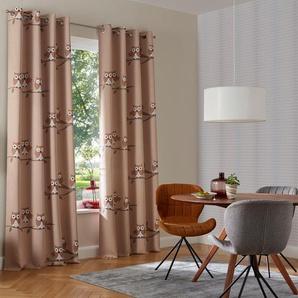 My Home Verdunkelungsvorhang  »Linea«, H/B 145/130 cm, beige