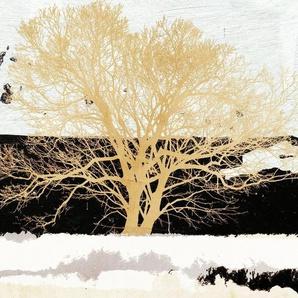 Wandbild »ALESSIO APRILE / Golden Tree«
