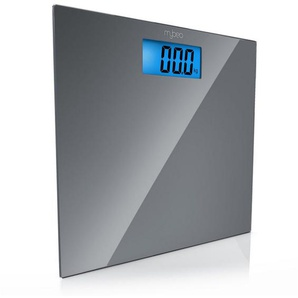 MyBeo Digitale Körperwaage im Slim Design »3,5 LCD-Display / DMS Mess-Sensoren / max. 150kg«