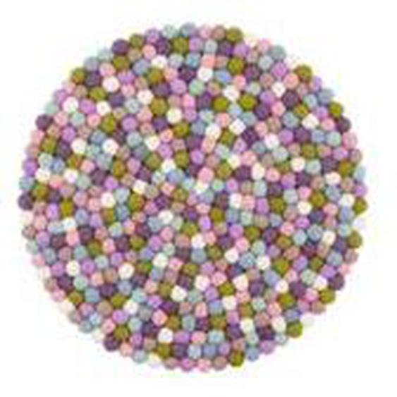 myfelt - Greta Sitzauflage Ø 36 cm, Multifarben pastell