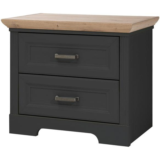 Nachtkommode - grau - 65 cm - 54 cm - 41 cm | Möbel Kraft