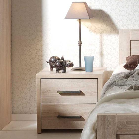 Nachtkommode in Eiche Sonoma Dekor online kaufen