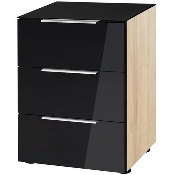 Nachtkommode - schwarz - 45,1 cm - 60,3 cm - 40 cm | Möbel Kraft