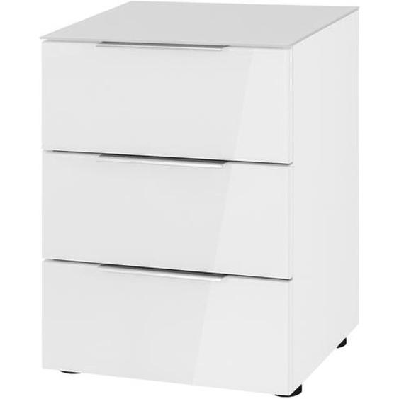 Nachtkommode - weiß - 45,1 cm - 60,3 cm - 40 cm | Möbel Kraft