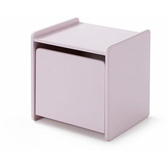 Nachtkonsole, rosa, Material MDF »Kiddy«, Vipack