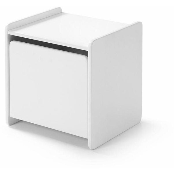 Nachtkonsole, weiß, Material MDF »Kiddy«, Vipack