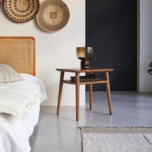 Nachtschrank Nachttisch skandinavisches Design Vintage Teak