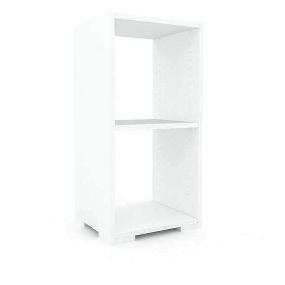 Nachtschrank Weiß - Eleganter Nachtschrank: Hochwertige Qualität, einzigartiges Design - 41 x 81 x 35 cm, konfigurierbar