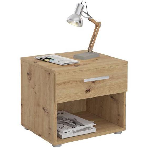 Nachttisch MARY Asteiche mit Schublade