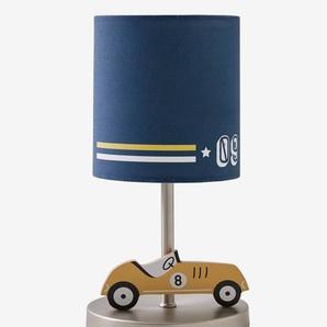 Nachttischlampe ,,Rennauto blau