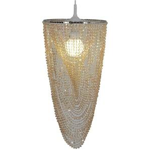 Näve Lampenschirm Perlmutt Gold Ø 28cm Geeignet Für E27er Fassung