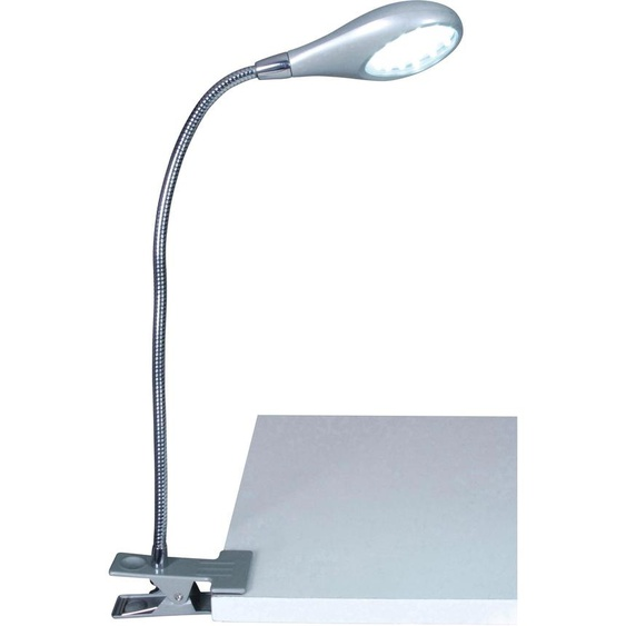 näve LED Klemmleuchte FUNCTION 1 -flg. /, H:24 cm silberfarben Leselampen Lampen Leuchten