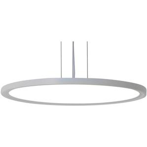Näve LED-Pendelleuchte Disk Ø 50 cm Weiß EEK: A-A++