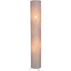 näve Stehlampe, E14 2 flg., Ø 18 cm Höhe: 120 beige Stehlampe Standleuchten Stehleuchten Lampen Leuchten