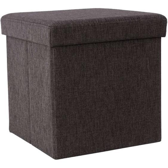 Nancys Hocker - Faltbarer Sitzpuff - Aufbewahrung - Aufbewahrungsbox - Hocker - 38 x 38 x 38 cm