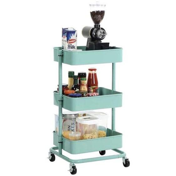 Nancys Küchenwagen auf Rädern Mintgrün - Küchenwagen