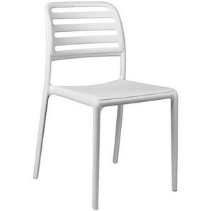 Nardi Costa Bistrot Stapelstuhl Kunststoff Weiß