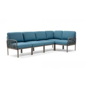 Nardi Loungemöbel Set,, Blau, Polypropylen