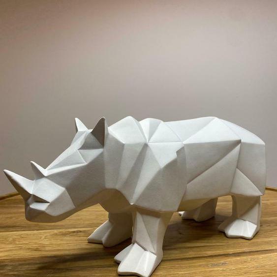 Nashorn I Origami Figur I Present Time I Dekofiguren