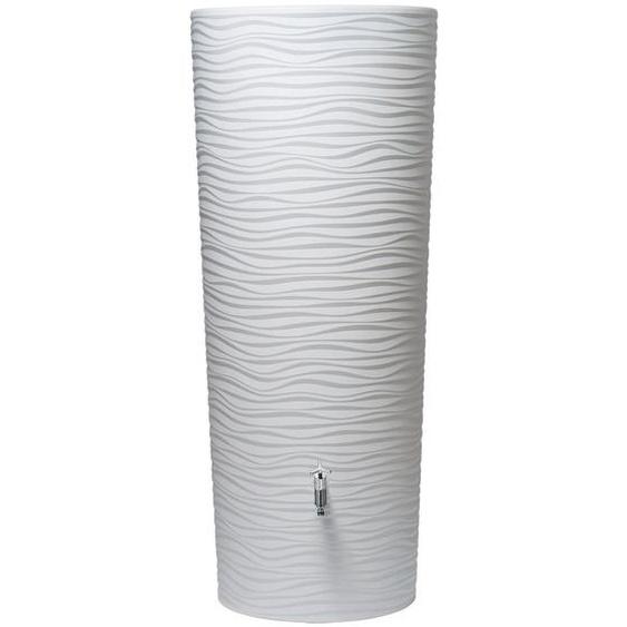 Natura 2in1 Regenwasser-Behälter 350 l Weiß
