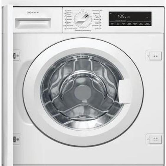 NEFF Einbauwaschmaschine W6441X0, 8 kg, 1400 U/min C (A bis G) Einheitsgröße weiß Waschmaschinen SOFORT LIEFERBARE Haushaltsgeräte