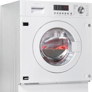 NEFF Einbauwaschtrockner V654 V6540X1, weiß, Energieeffizienzklasse: B