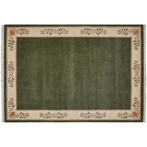 Nepal-Teppich  Classica ¦ grün ¦ 80% Neuseelandwolle, 20% Hochlandwolle, Wolle ¦ Maße (cm): B: 70 Teppiche  Wohnteppiche » Höffner