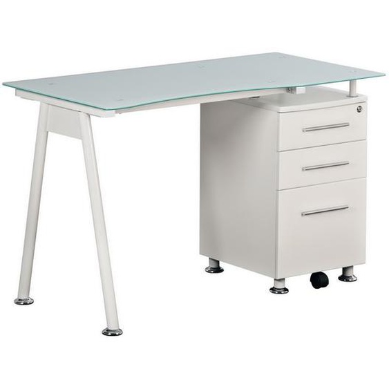 NERO I | 120x60 - Schreibtisch Weiß