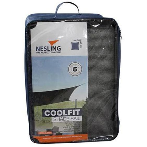 Nesling Coolfit Sonnensegel Quadrat 500x500cm HDPE Dunkelgrau