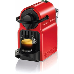 Kapselmaschine Inissia XN1005, rot, Nespresso