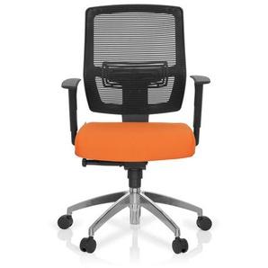 NET 90 - Profi Bürostuhl Schwarz / Orange