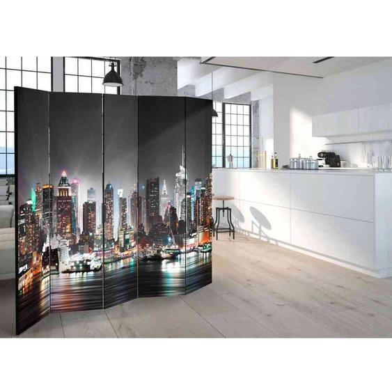 New York Motiv Paravent mit fünf Elementen 225 cm breit