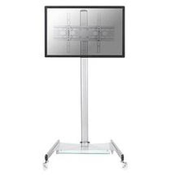 NEWSTAR TV-Ständer mit Rollen PLASMA-M1600 silber