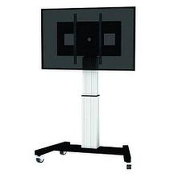 NEWSTAR TV-Ständer mit Rollen PLASMA-M2500SILVER silber
