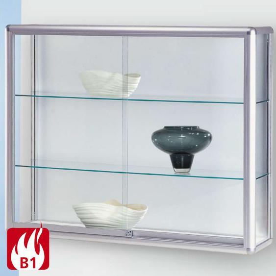 NICE Brandschutz-Wandvitrine mit Schiebet�ren, b60-100xt20xh80cm