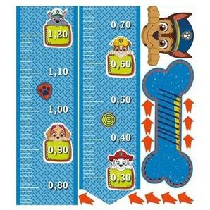 Nickelodeon Wachstumsmesser Wandaufkleber Paw Patrol 120 Cm
