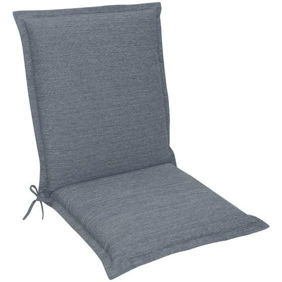 Niedriglehner-Auflage, Blue, Stoff